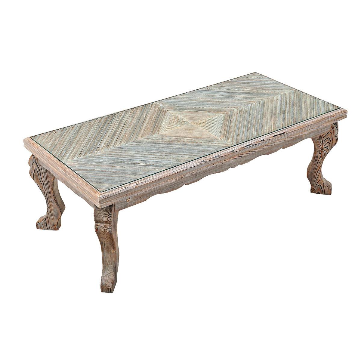 - Handmade Vintage Coffee Table, Code: 260 - Πλακιώτης - Χειροποίητα